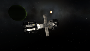 Diamond Ring at Laythe by menalaos1971