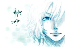 Hope - 1st Tablet Tryout by wasabiyuu