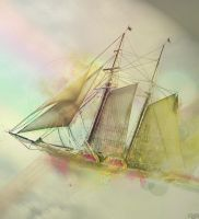 The Flying Ship by AagaardDS