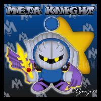 Meta Knight Chao by CCgonzo12