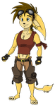 Gunther Pixel Version by RatchetJak