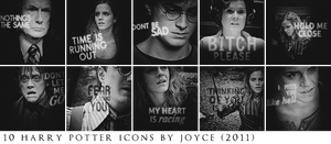 Harry Potter 7.1 Icons by memorabledesign