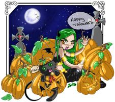 Happy Halloween by zenia