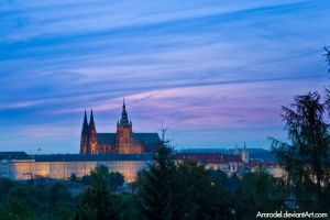 Prague Castle III by amrodel