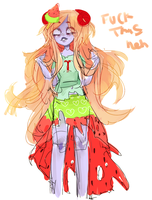 scrapped trickster aradia by Costly
