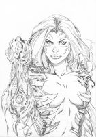 Witchblade by Marc-F-Huizinga