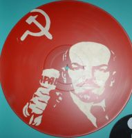 Lenin Vinyl by EdwardAbbieyHoffman