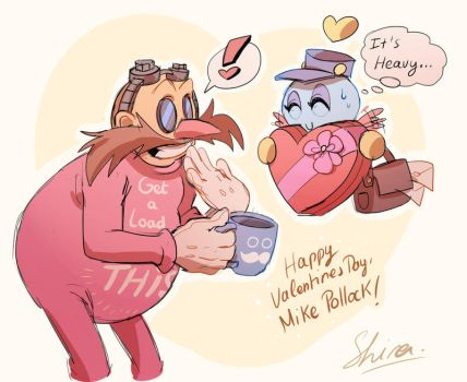 Happy Valentines day, Eggman by Shira-hedgie