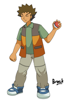 Brock in Diamond and Pearl by Jaydeis
