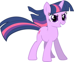 Twilight Sparkle Vector No BG by pokerface3699