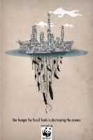 WWF Pollution Campaign Poster by AirDuster