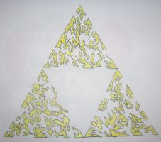 Triforce. by GiNgErPaNdErZ
