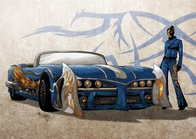 Luna and her Moonbeamer by Iantoy