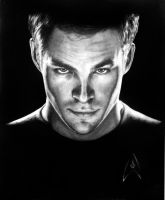Captain Kirk by illogoi