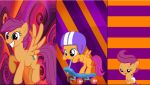 3 Scootaloo's by Macgrubor