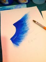 blue wing by KENNLORD