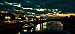 Omsk. Contrast evening by overthecuckoo