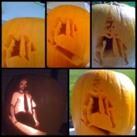 Shaun Of The Pumpkins by AlouetteCosplay