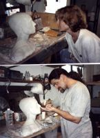 Making a Head by TimBakerFX