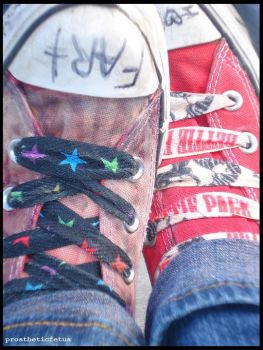 my shoes by prostheticfetus