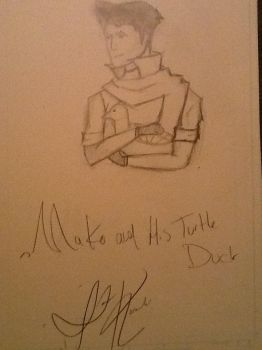 Mako the turtle duck by The-Ninja-Rabbit