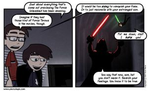 The Force: Better Than Therapy by PierceLogic