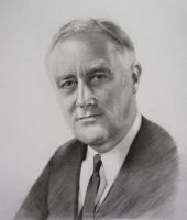 Franklin D. Roosevelt by LTotaro