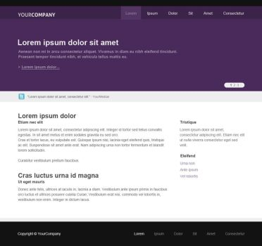Simple Purple theme by theKrisztian