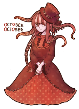 October October by MoonyWitcher