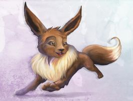 Forever Eevee by Noomeci-art