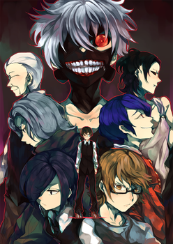 Tokyo Ghoul by redricewine