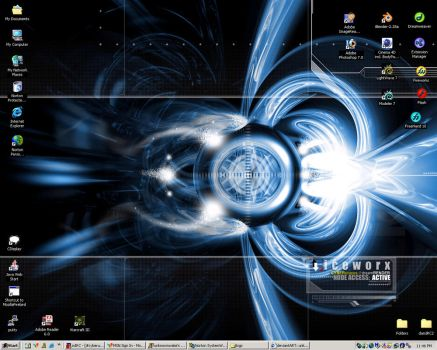 My Current Desktop by unknownwake