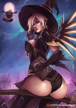 PT: Mercy witch by kachima
