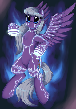 [Com] Violet's wrath by Evomanaphy