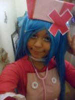 Miku nurse cosplay for Japan expo 2012 by Mikux3Cosplay