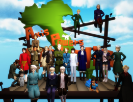 .:~Most of  my Hetalia models~:. by TheGreatTwixie