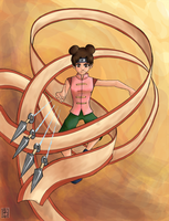 Tenten by blackbirdsfly