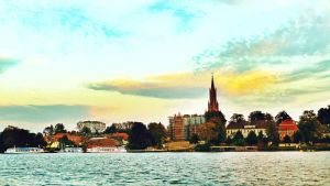 Moon over Malchow - edit by teetotally