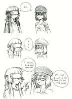 Goma meets another Maki by Rakugaki-otoko