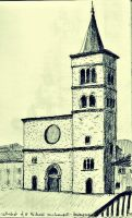 Bevagna (Italy) - Cattedrale di S.Michele Arcangel by mjdezo