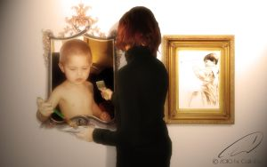 The Painter - Living Painting by CaWoDa