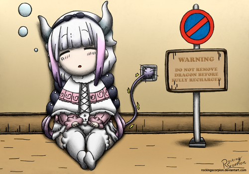 Currently Charging, Do Not Disturb by RockingScorpion