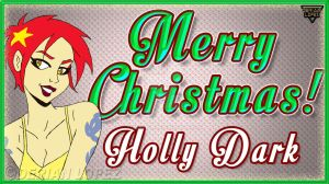 Merry Christmas from Holly Dark by derianl