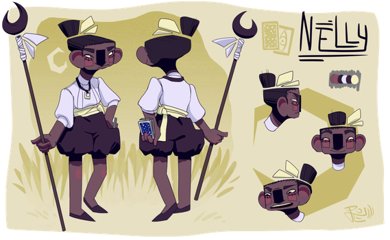 Nelly Reference Sheet by coconutmoose