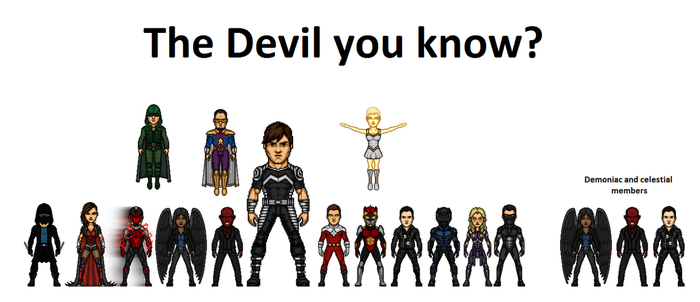 LEGION: The Devil you know? by Comicboy02