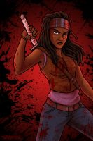 Michonne by SaBasse