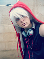 Street!Prussia Version: Curious Albino by Pudique