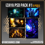 Izaya PSD Pack #1 by TheIzaya