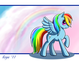 MLP: Rainbow Dash by Feles-Alata