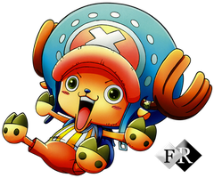 Chopper render HQ by Ferdiferrah